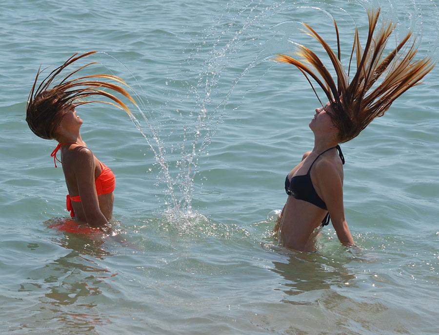 Jugendreisen Blanes - Spanien Costa Brava - Jugendliche haben Spaß