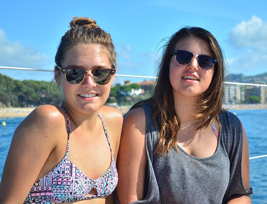Jugendreisen Blanes - Spanien Costa Brava - junge Mädels