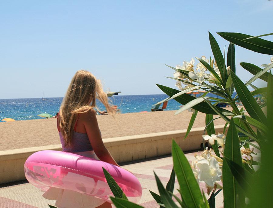 Jugendreisen Blanes - Spanien Costa Brava - Strand