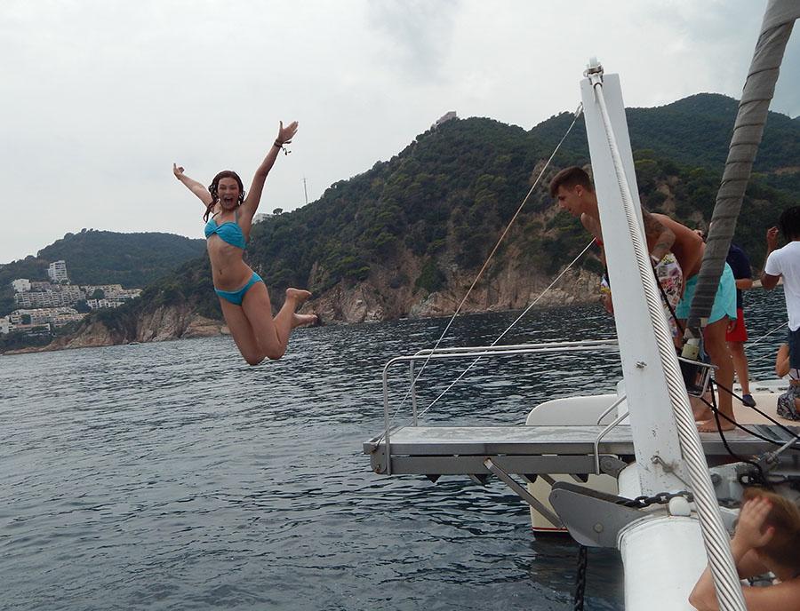 Jugendreisen Blanes - Spanien Costa Brava - Partyboot