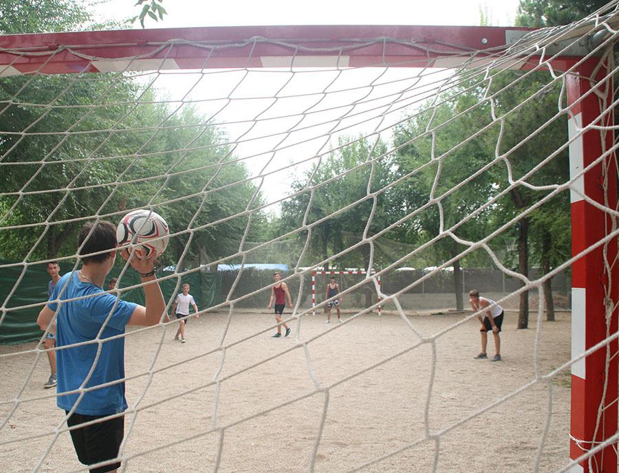 Jugendreisen Blanes - Spanien Costa Brava - Sport im Camp S`Abanell