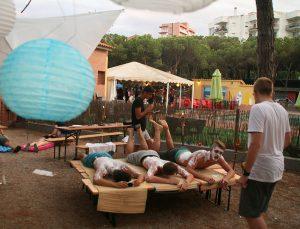 Jugendreisen Blanes - Spanien Costa Brava - Campbild