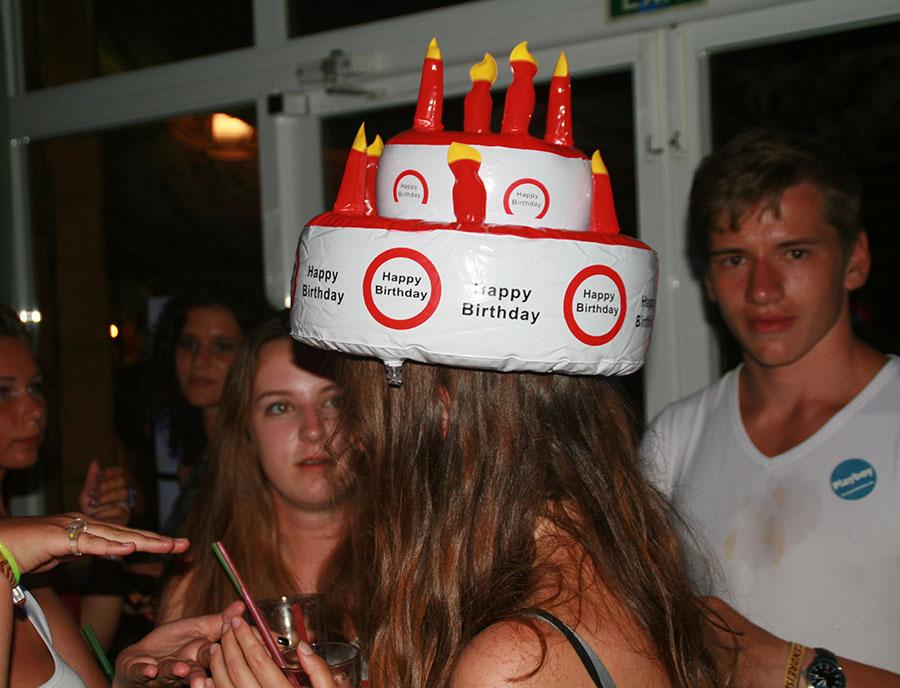 Jugendreisen Blanes - Spanien Costa Brava  Spaßbild