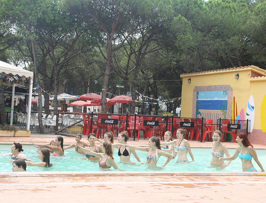 Jugendreisen Blanes - Spanien Costa Brava - Pool Sport