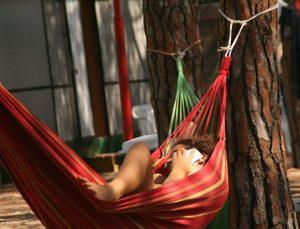 Jugendreisen Blanes - Spanien Costa Brava - Chillen in der Hängematte