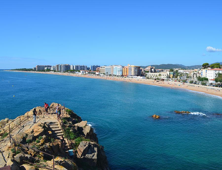 Jugendreisen Blanes Spanien Informationen - Panorama