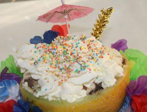 Jugendreisen Blanes - Spanien Costa Brava - Eis in Melone