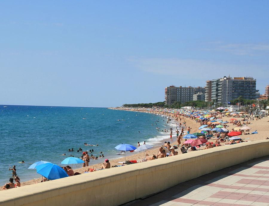 Jugendreisen Blanes Spanien Informationen - Strandpromenade