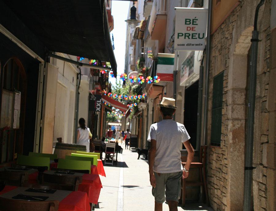 Jugendreisen Blanes Spanien Informationen - Einkaufsgassen