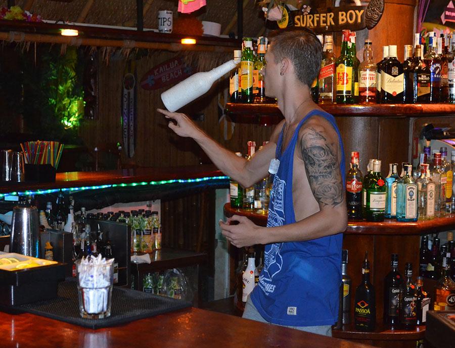 Jugendreisen Blanes - Spanien Costa Brava - Barkeeper