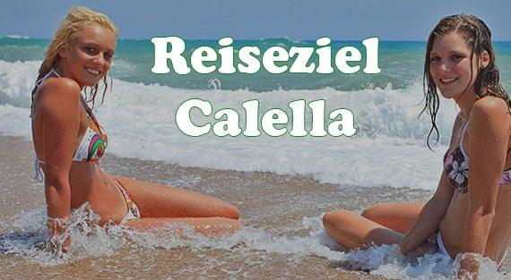 Jugendreisen Calella Spanein - Informationen - hier Strand