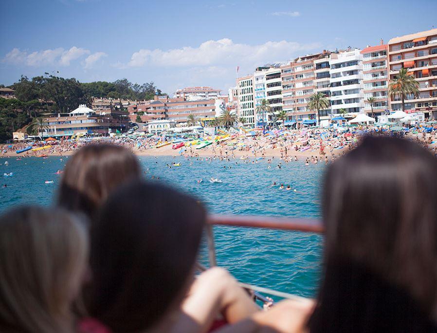 Jugendreisen Calella - Freizeitaktivitäten Partybeach Lloret
