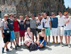Jugendreisen Calella Spanien -Ausflug nach Barcelona