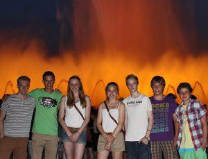 Jugendreisen Calella Spanien - Ausflug nach Barcelona hier Font Magica
