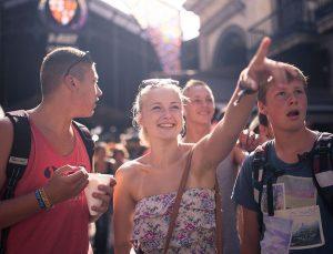 Jugendreisen Calella Spanien -Ausflug nach Barcelona - Markthalle