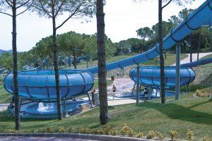 Jugendreisen Calella Spanien - Waterworld Rutschen