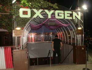 Jugendreisen Calella Spanien - nightlife Party Eingang Oxygen