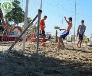 Beachsoccer Aktivitäten Rimini Jugendreisen