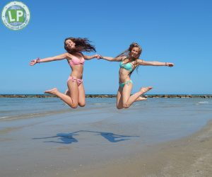 Photoshoot Jugendreisen Rimini Strand