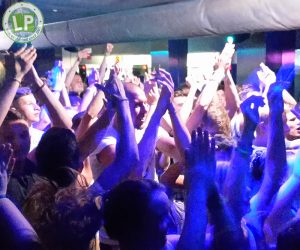 Tanzfläche in der Diskothek Life in Rimini
