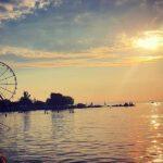Der Balaton am Abend - Tipps und Erfahrungen Jugendreisen Siofok