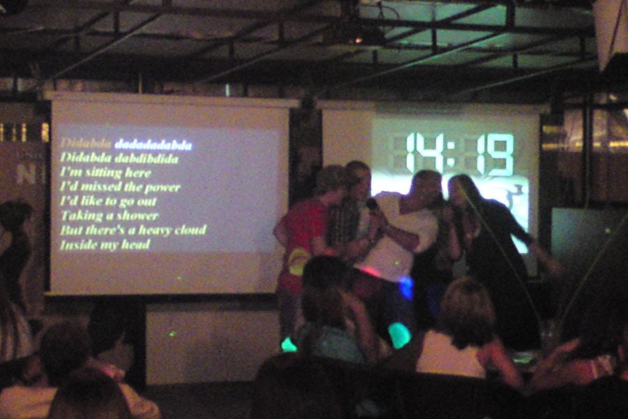 Jugendreisen Siofok Informationen - hier Karaokebar