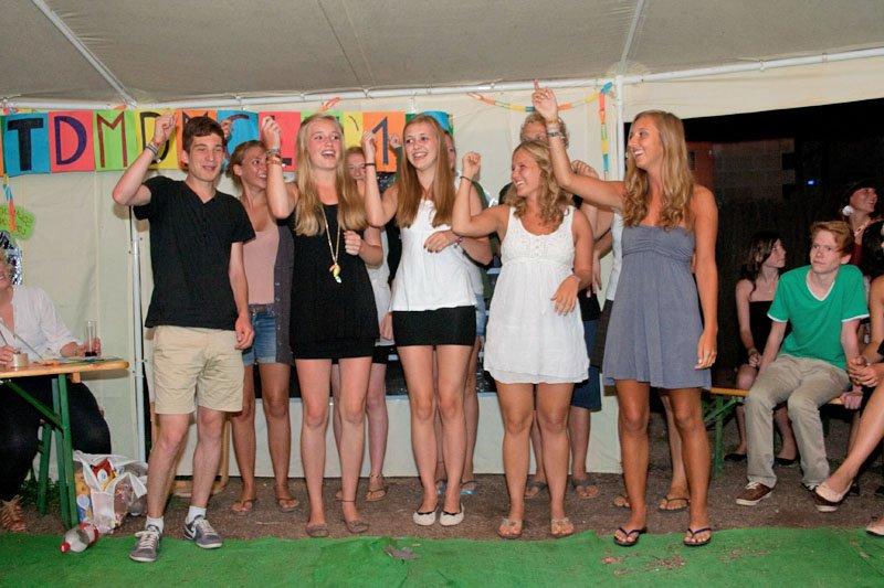 Jugendreisen Siofok Ungarn - Abendprogramm im Camp
