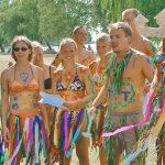 Jugendreisen Siofok Ungarn - hier Bodypainting