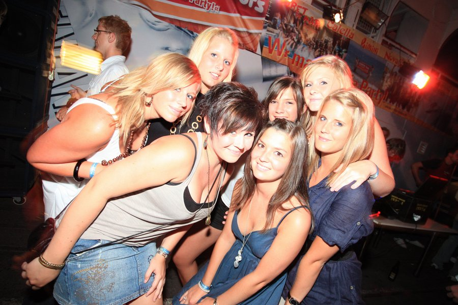 Partyabend - Jugendreisen Siofok