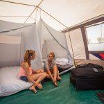 Jugendreisen - Camping im Zelt