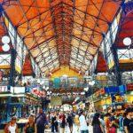 Städtereisen Budapest Ungarn hier Markthalle