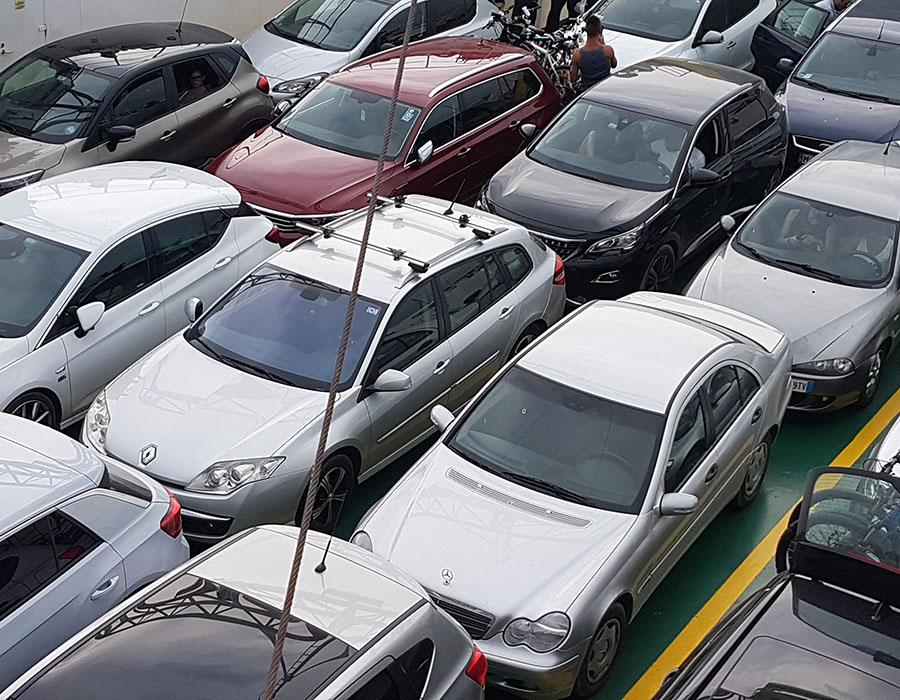 Anreise Novalja mit dem Auto PKW Informationen Kosten - hier Fähre