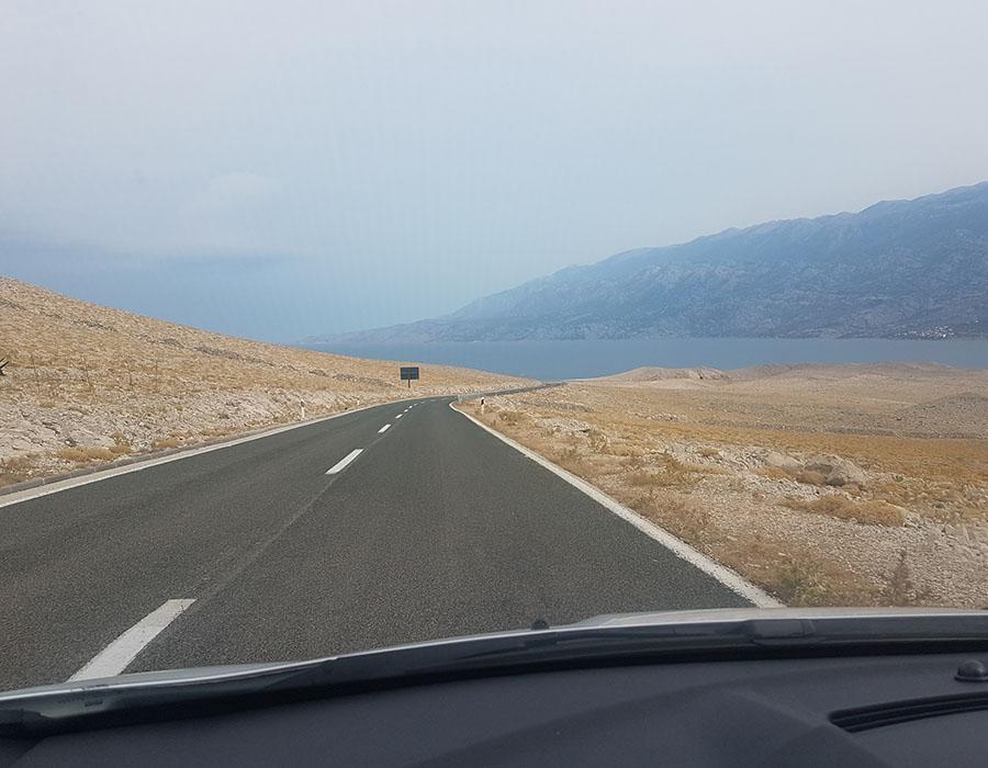 Anreisekosten Partyurlaub Novalja mit dem Auto PKW