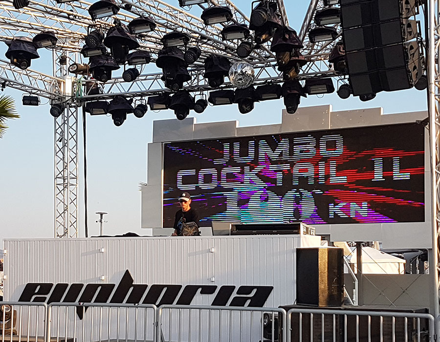 Erfahrungen Zrcé Beach Partystrand Novalja in Kroatien Beginn Afterbeachparty