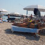 Informationen Zrce Beach Partystrand Novalja in Kroatien Chillen mit Liege gemietet