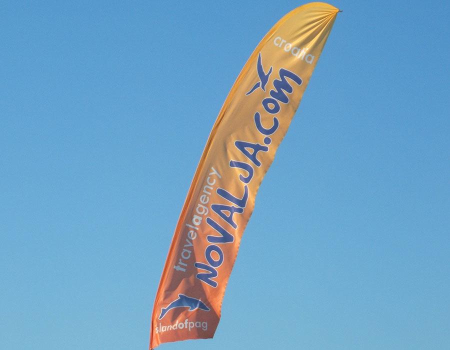 Jugendreisen Novalja Kroatien Informationen Beachflag Partystrand