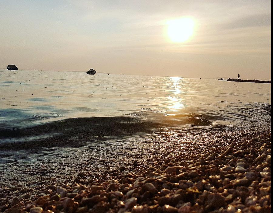 Jugendreisen Novalja Kroatien Informationen Sonnenuntergang am Meer