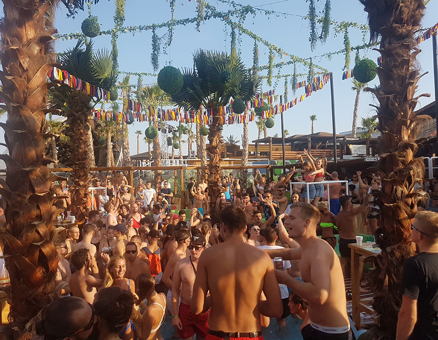 Jugendreisen Novalja Kroatien Informationen Zrce Beach Papaya Afterbeachparty