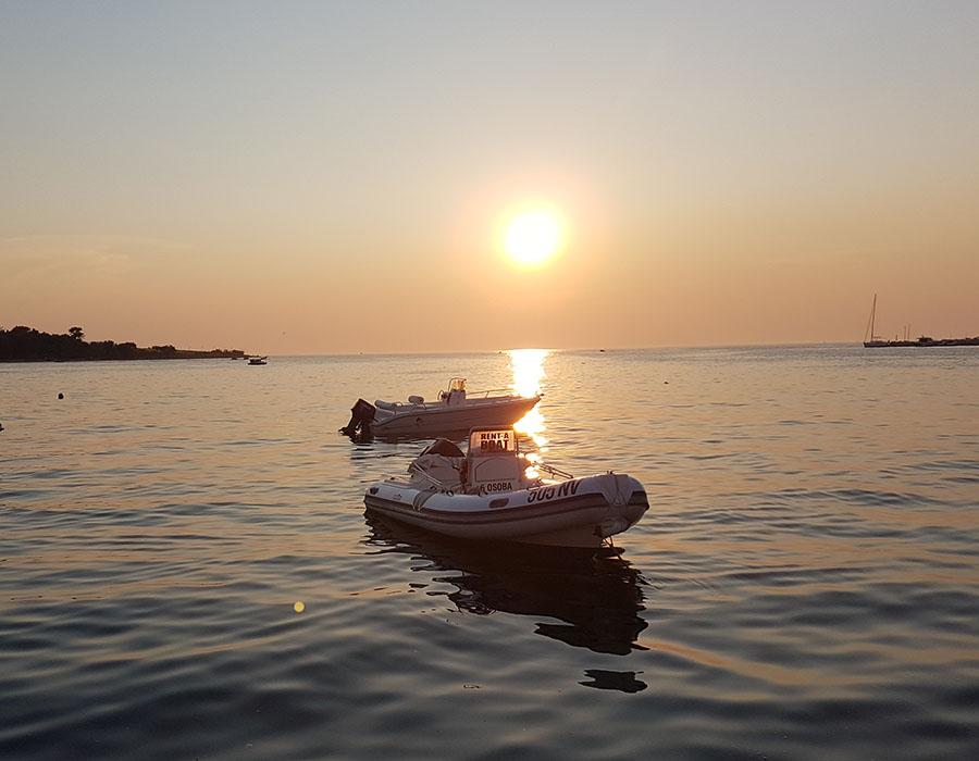 Jugendreisen Novalja Kroatien Informationen romantischer Sonnenuntergang