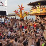 Urlaub Novalja Zrce Beach Kroatien After Beach Party im Open Air Club NOA