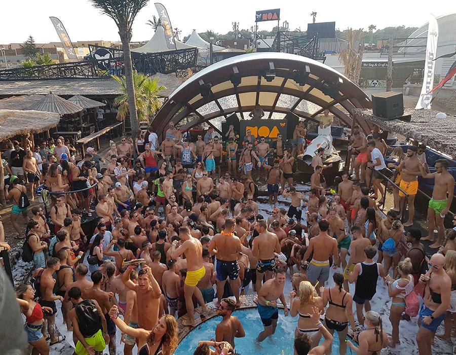 Informationen Partyurlaub in Novalja Zrce Beach Kroatien Afterbeachparty im NOA