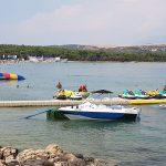 Novalja Zrce Beach Kroatien Jetski am Partystrand