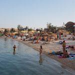 Novalja Zrce Beach Kroatien Strand während der Afterbeachparty