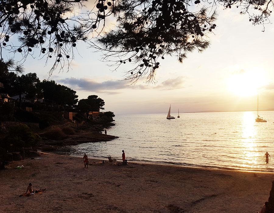 Partyurlaub im September Mallorca - Sonnenuntergang