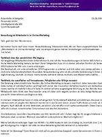 Bewerbung - Anschreiben - Muster Bewerbungsanschreiben PDF - Tipps für das Bewerberschreiben Inhalt und Aufbau