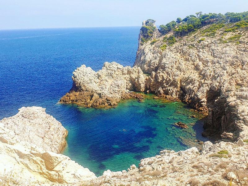 Bucht in Cala Ratjada mit wunderbarem Meerblick