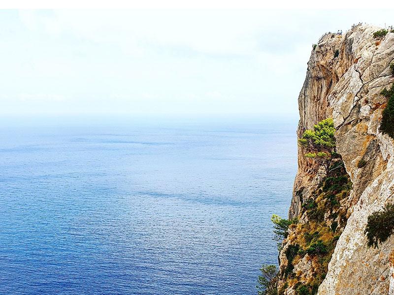 Cap Formentor Touristen