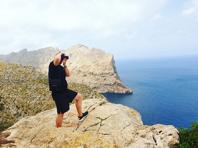 Cap Formentor auf Mallorca Fotoshooting