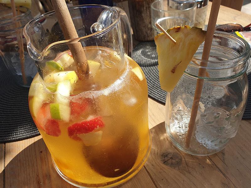 Sangria 1 Liter im Coco Beach House in Cala Ratjada