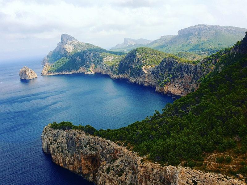 Sightseeing Ausflug zum Cap Formentor auf Mallorca im September